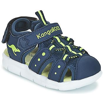 Παπούτσια Αγόρι Σανδάλια / Πέδιλα Kangaroos K-MINI Marine / Yellow