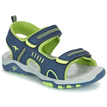 Παπούτσια Παιδί Σανδάλια / Πέδιλα Kangaroos K-LOGAN Marine / Green