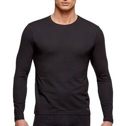 Υφασμάτινα Άνδρας Μπλουζάκια με μακριά μανίκια Impetus 1368898 020 Black