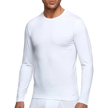 Υφασμάτινα Άνδρας Μπλουζάκια με μακριά μανίκια Impetus 1368898 001 Άσπρο