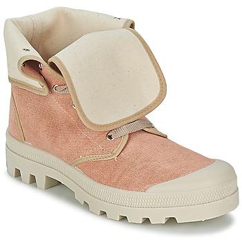 Παπούτσια Γυναίκα Ψηλά Sneakers Casual Attitude BOPESSA ροζ