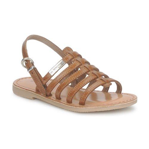 Παπούτσια Κορίτσι Σανδάλια / Πέδιλα Les Tropéziennes par M Belarbi MANGUE TAN