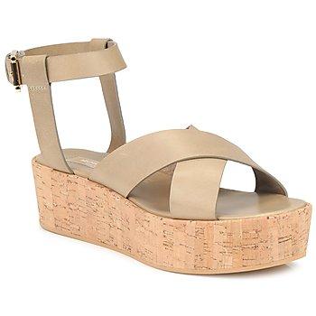 Παπούτσια Γυναίκα Σανδάλια / Πέδιλα Michael Kors MK18132 Sand