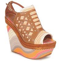 Παπούτσια Γυναίκα Σανδάλια / Πέδιλα Missoni TM22 Brown / Orange