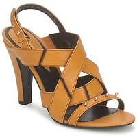 Παπούτσια Γυναίκα Σανδάλια / Πέδιλα Karine Arabian DOLORES Safran-μαύρο