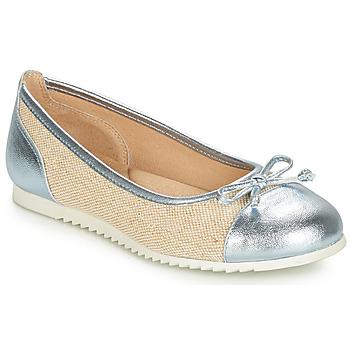 Παπούτσια Κορίτσι Μπαλαρίνες André RIVAGE Μπλέ / Beige