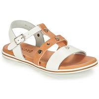 Παπούτσια Αγόρι Σανδάλια / Πέδιλα André MILAN Άσπρο / Camel