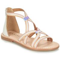 Παπούτσια Κορίτσι Σανδάλια / Πέδιλα André MELODIE Άσπρο