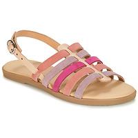 Παπούτσια Κορίτσι Σανδάλια / Πέδιλα André INDRA Ροζ
