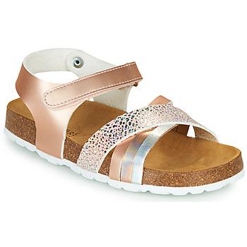 Παπούτσια Κορίτσι Σανδάλια / Πέδιλα André CARAIBE Ροζ