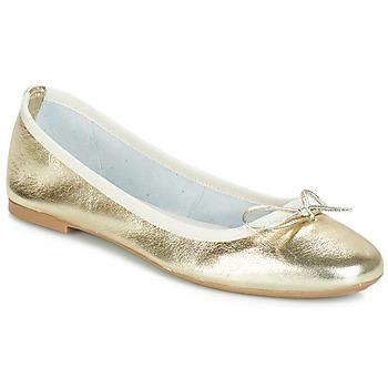 Παπούτσια Γυναίκα Μπαλαρίνες André PIETRA Gold
