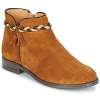 Παπούτσια Γυναίκα Μπότες André RAVIE Camel