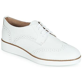Παπούτσια Γυναίκα Derby André CAROU Άσπρο