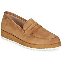 Παπούτσια Γυναίκα Μοκασσίνια André CLICK Camel