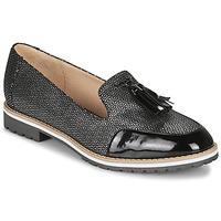 Παπούτσια Γυναίκα Μοκασσίνια André EMOTION Silver / Black