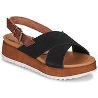 Παπούτσια Γυναίκα Σανδάλια / Πέδιλα André REINE Black
