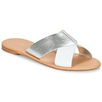 Παπούτσια Γυναίκα Τσόκαρα André CRYTELLE Άσπρο