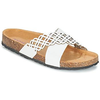 Παπούτσια Γυναίκα Τσόκαρα André ROULADE Άσπρο