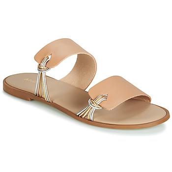 Παπούτσια Γυναίκα Σανδάλια / Πέδιλα André SOLENA Beige