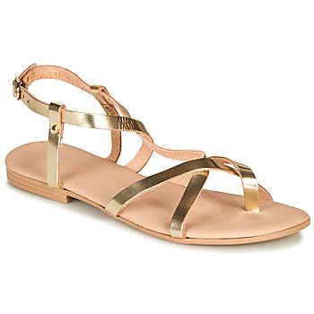 Παπούτσια Γυναίκα Σανδάλια / Πέδιλα André RAFFOLE Gold