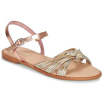 Παπούτσια Γυναίκα Σανδάλια / Πέδιλα André SOFIA Gold