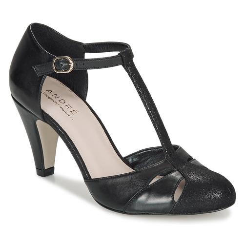 Παπούτσια Γυναίκα Γόβες André CANCAN Black