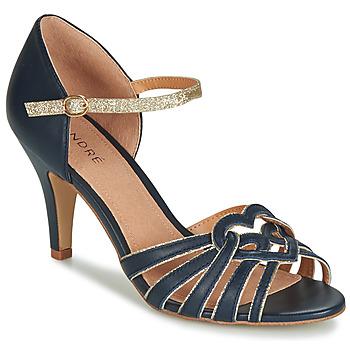 Παπούτσια Γυναίκα Σανδάλια / Πέδιλα André CAGLIARI Marine