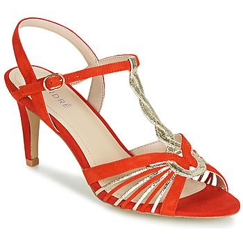 Παπούτσια Γυναίκα Σανδάλια / Πέδιλα André CALECHE Red