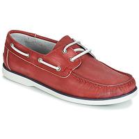 Παπούτσια Άνδρας Boat shoes André PORT CROS Red