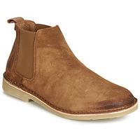 Παπούτσια Άνδρας Μπότες André RONNY Cognac
