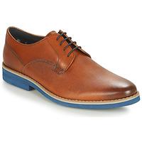 Παπούτσια Άνδρας Derby André CANOE Cognac / Μπλέ
