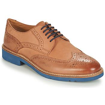 Παπούτσια Άνδρας Derby André FLOWER Brown / Μπλέ
