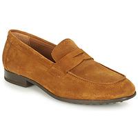 Παπούτσια Άνδρας Μοκασσίνια André PLATEAU Cognac