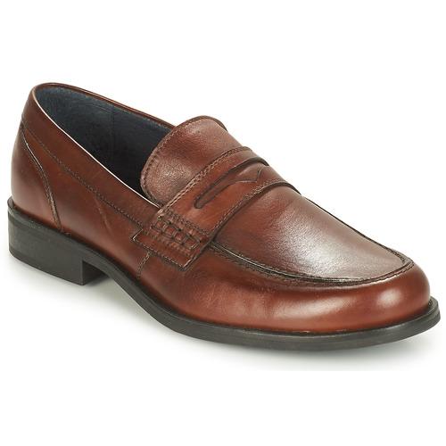 Παπούτσια Άνδρας Μοκασσίνια André KOLL Brown