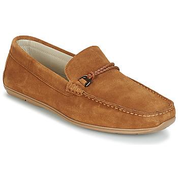 Παπούτσια Άνδρας Μοκασσίνια André TRISSOT Camel
