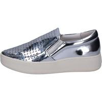 Παπούτσια Γυναίκα Slip on Uma Parker slip on argento pelle BT564 Argento