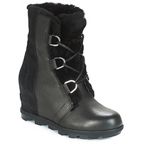 Παπούτσια Γυναίκα Snow boots Sorel JOAN OF ARCTIC™ WEDGE II LUX Black