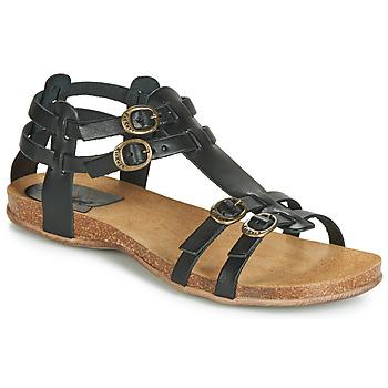 Παπούτσια Γυναίκα Σανδάλια / Πέδιλα Kickers ANA Black