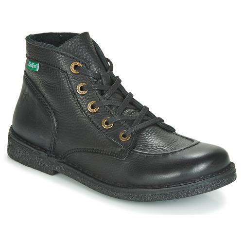 Παπούτσια Γυναίκα Μπότες Kickers LEGENDIKNEW Black