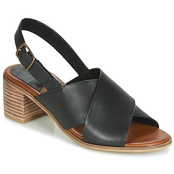 Παπούτσια Γυναίκα Σανδάλια / Πέδιλα Kickers VICTORIANE Black