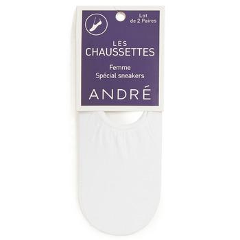 Αξεσουάρ Γυναίκα Κάλτσες André FOOTIES Άσπρο