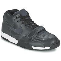 Παπούτσια Άνδρας Χαμηλά Sneakers Nike AIR TRAINER 1 MID Black