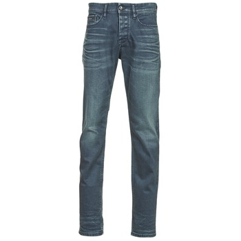 Υφασμάτινα Άνδρας Skinny Τζιν  Calvin Klein Jeans SLIM STRAIGHT Μπλέ / Fonce