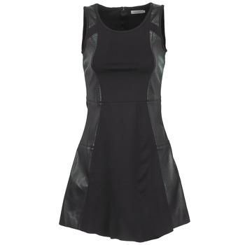 Υφασμάτινα Γυναίκα Κοντά Φορέματα Calvin Klein Jeans ROZ Black