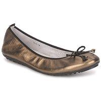 Παπούτσια Γυναίκα Μπαλαρίνες Mac Douglas ELIANE Bronze / Black / Verni