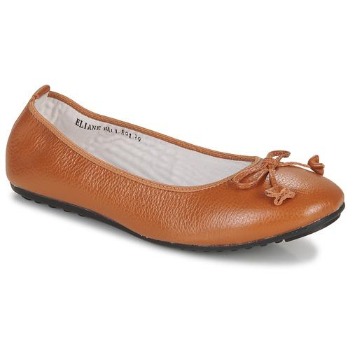 Παπούτσια Γυναίκα Μπαλαρίνες Mac Douglas ELIANE Chataigne