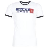 Υφασμάτινα Άνδρας T-shirt με κοντά μανίκια Teddy Smith TOZO Άσπρο