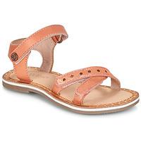 Παπούτσια Κορίτσι Σανδάλια / Πέδιλα Kickers DIDONC Ροζ / Μεταλικό