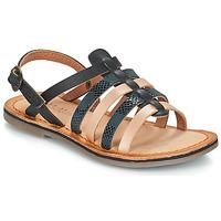 Παπούτσια Κορίτσι Σανδάλια / Πέδιλα Kickers DIXON Black / Serpent