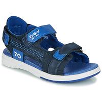 Παπούτσια Αγόρι Σανδάλια / Πέδιλα Kickers PLANE Marine